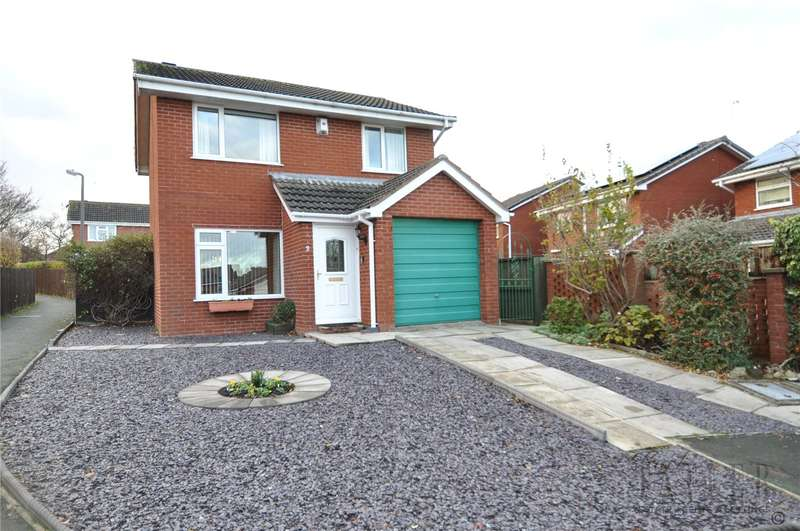 3 Bedrooms Detached House for sale in Chidden Close, Greasby, Wirral