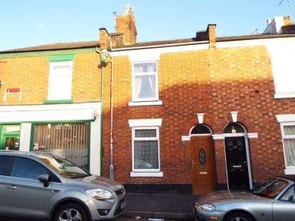 2 Bedrooms Terraced House for sale in Meredith Street, Crewe, Cheshire