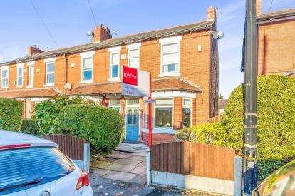 3 Bedrooms End Of Terrace House for sale in Carrington Lane, Ashton Upon Mersey, Sale, Greater Manchester