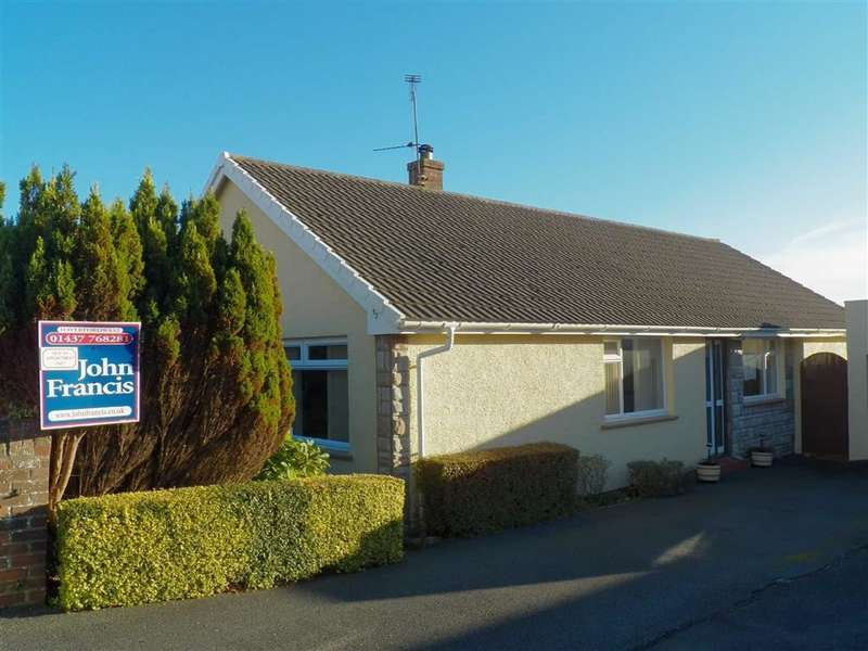 3 Bedrooms Detached Bungalow for sale in Haven Park Close, Haverfordwest