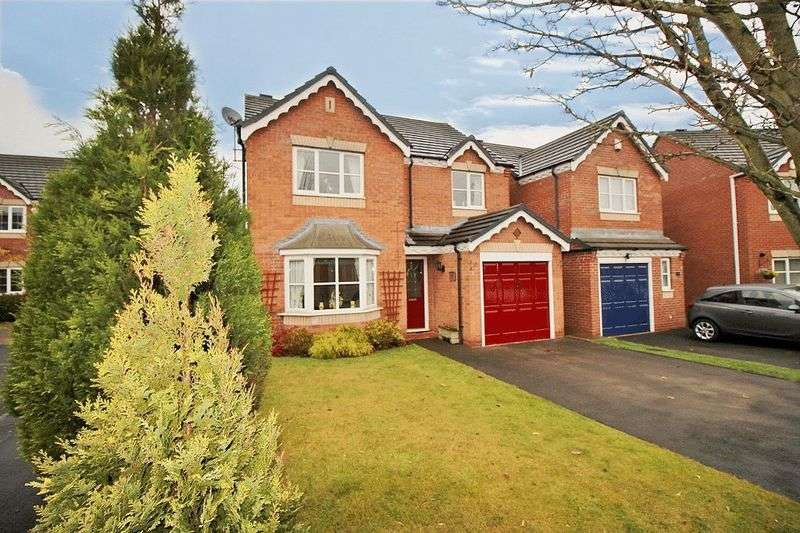 4 Bedrooms Detached House for sale in Long Mynd Close, Coppice Farm, Willenhall