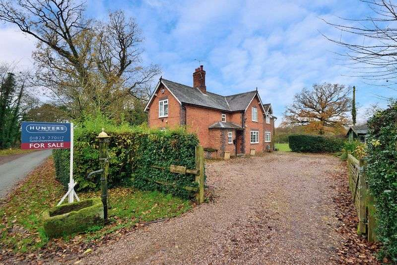 4 Bedrooms Detached House for sale in Brasseys Contract Road, Edge, Malpas