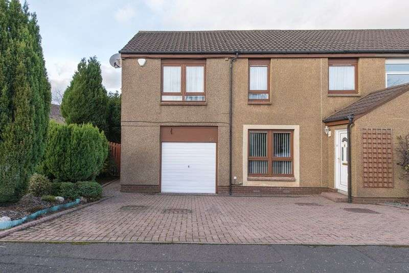 4 Bedrooms Semi Detached House for sale in Ormiston Drive, East Calder, EH53 0RN