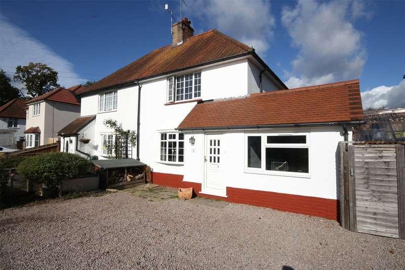 3 Bedrooms Semi Detached House for sale in Beechwood Villas, Salfords, Surrey, RH1