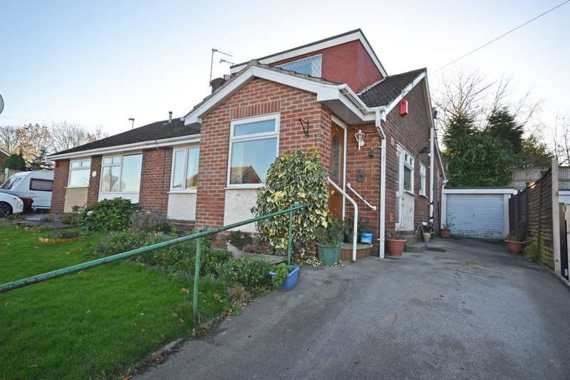 2 Bedrooms Semi Detached Bungalow for sale in Cherry Tree Crescent, Walton, Wakefield