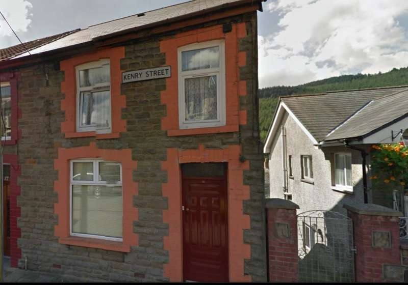 3 Bedrooms Terraced House for sale in Kenry Street, Treorchy