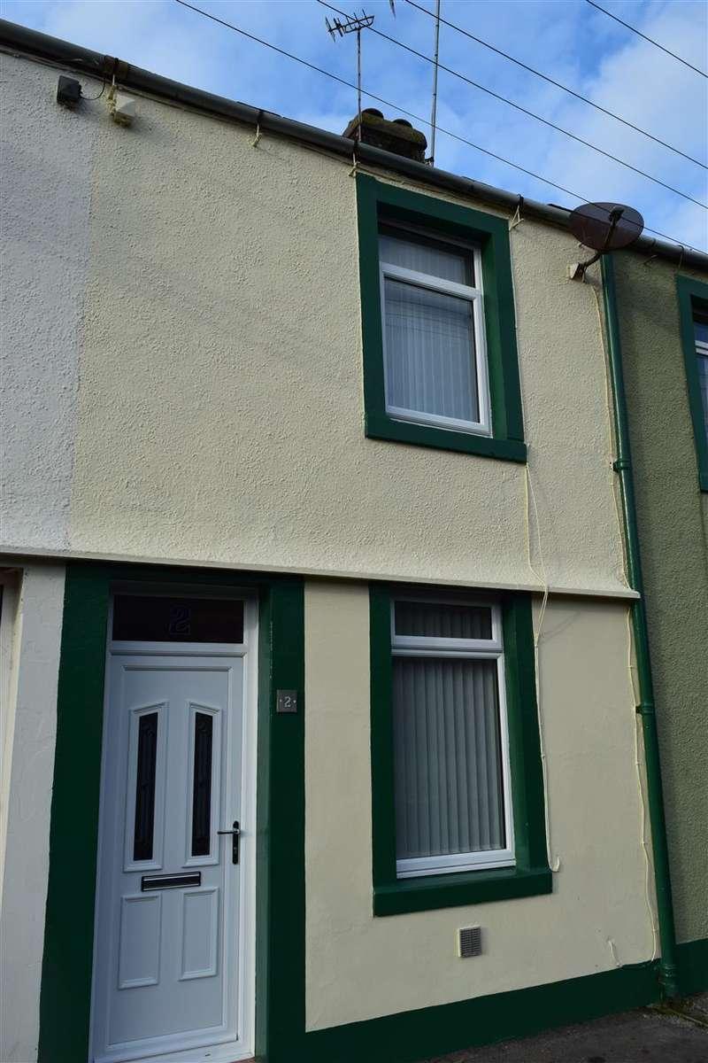 2 Bedrooms Terraced House for sale in Burnside, Harrington, Workington