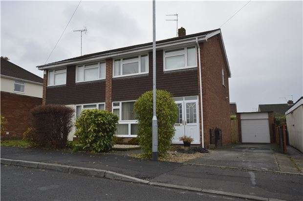 3 Bedrooms Semi Detached House for sale in Gledemoor Drive, Coalpit Heath, BRISTOL, BS36 2PA