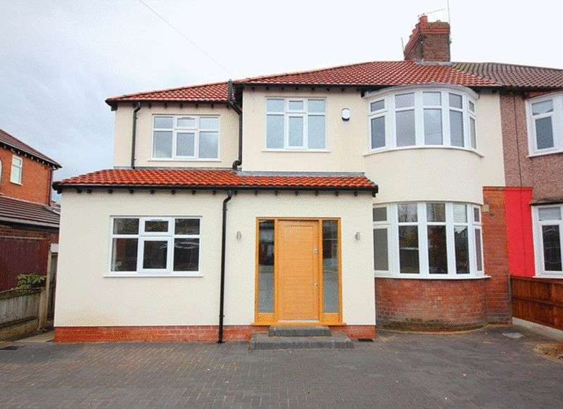 4 Bedrooms Semi Detached House for sale in Halkirk Road, Mossley Hill, Liverpool, L18