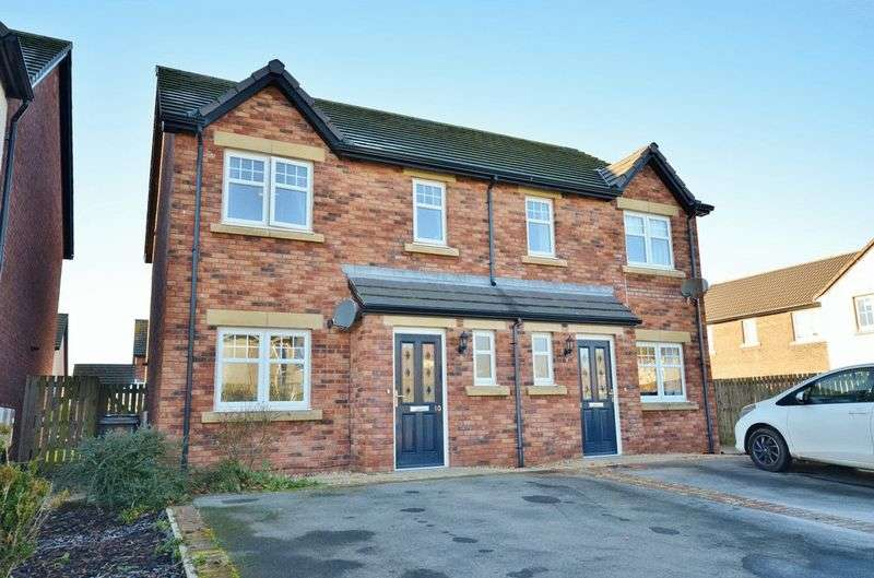 3 Bedrooms Semi Detached House for sale in Leander Close, Whitehaven