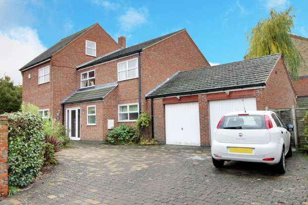 4 Bedrooms Detached House for sale in Middlemore Yard, Grantham, Lincolnshire, NG31 6SN