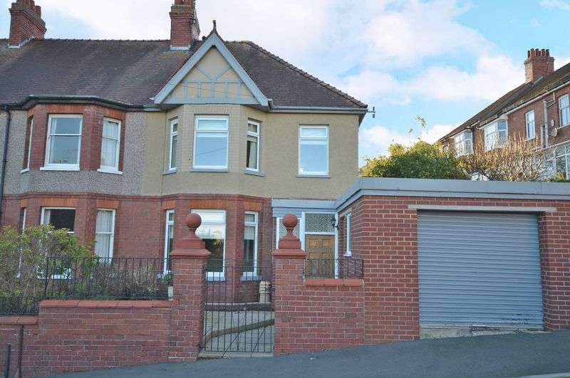 3 Bedrooms Semi Detached House for sale in Westville Road, Newport