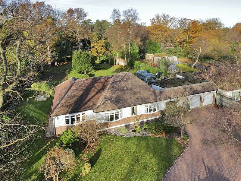 3 Bedrooms Detached Bungalow for sale in Felcot Road, Furnace Wood, West Sussex