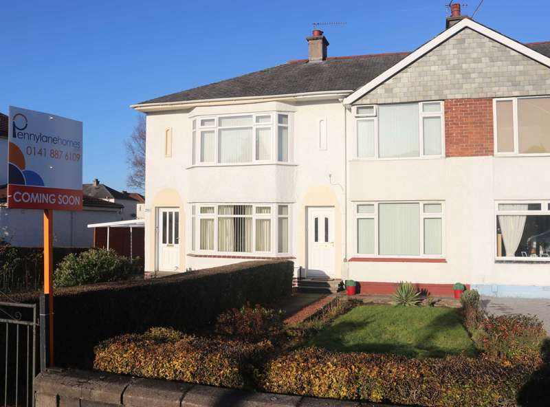 2 Bedrooms House for sale in Glasgow Road, Paisley