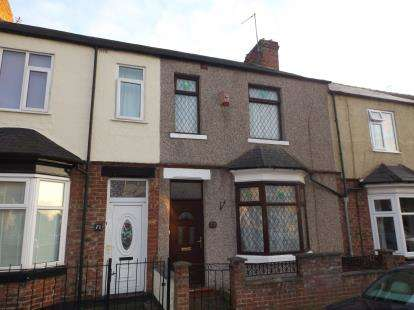 3 Bedrooms Terraced House for sale in Lowson Street, Darlington, County Durham