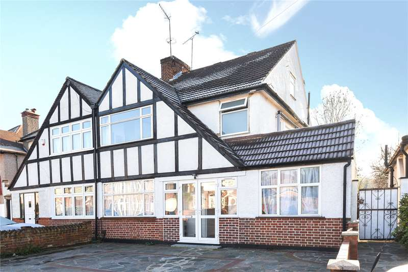 4 Bedrooms Semi Detached House for sale in Village Way, Pinner, Middlesex, HA5