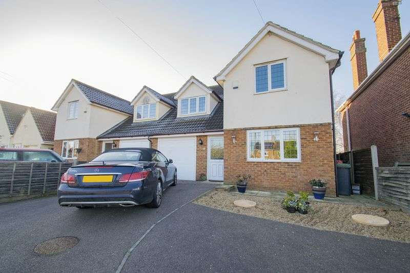 4 Bedrooms Semi Detached House for sale in Bedford Road, Houghton Conquest