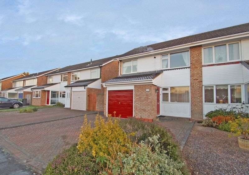3 Bedrooms Semi Detached House for sale in Granville Close, Harwood Park. Bromsgrove
