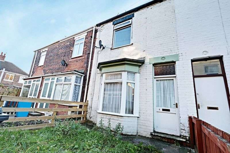 2 Bedrooms Terraced House for sale in Myrtle Grove, Lorraine Street, Hull