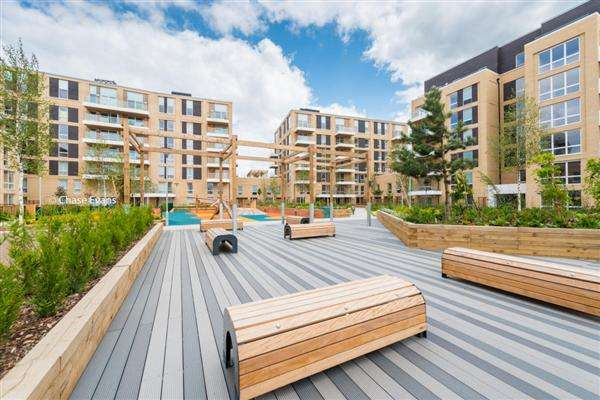 2 Bedrooms Apartment Flat for sale in Sheerington Court, Hallsville Quarter Development, Rathbone St, Canning Town, Barking