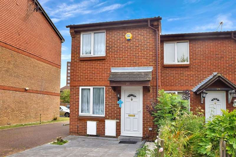 1 Bedroom End Of Terrace House for sale in Clivesdale Drive, Hayes, UB3