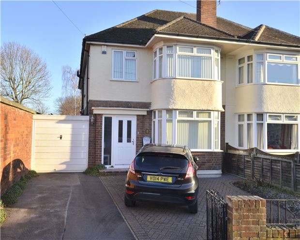 3 Bedrooms Semi Detached House for sale in Colin Road, Barnwood, GLOUCESTER, GL4 3JL