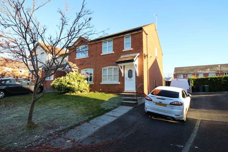 2 Bedrooms Semi Detached House for sale in Masefield Close, New Ferry