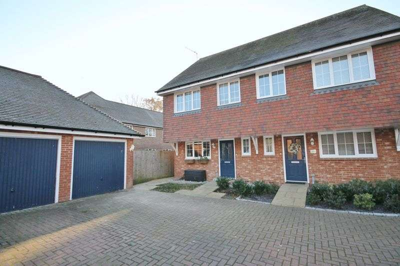 3 Bedrooms Semi Detached House for sale in Sycamore Drive, Burgess Hill, West Sussex