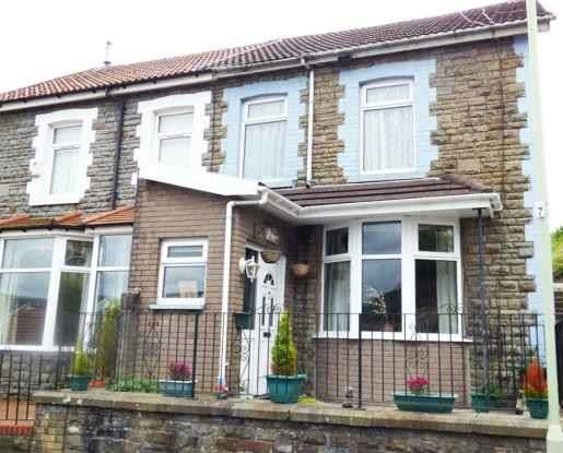 4 Bedrooms Semi Detached House for sale in Gilfach Road, Rhondda Cynon Taff, Mid Glamorgan, CF40 1BU