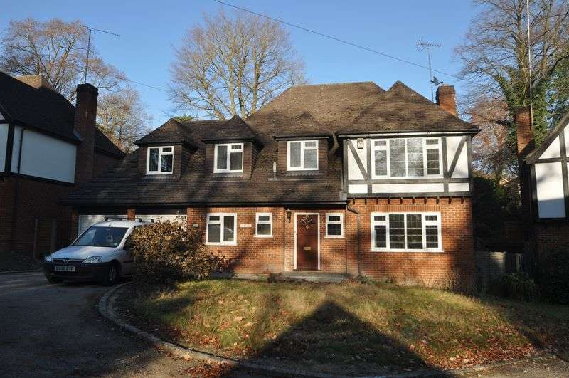 5 Bedrooms Detached House for rent in Crawley Wood Close, Camberley