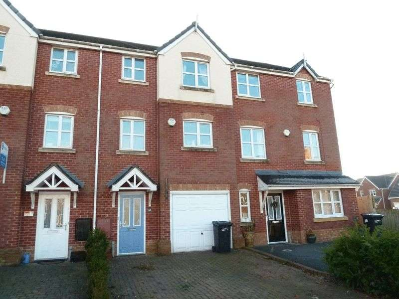 3 Bedrooms Terraced House for sale in Talbot Way, Stapeley, Nantwich
