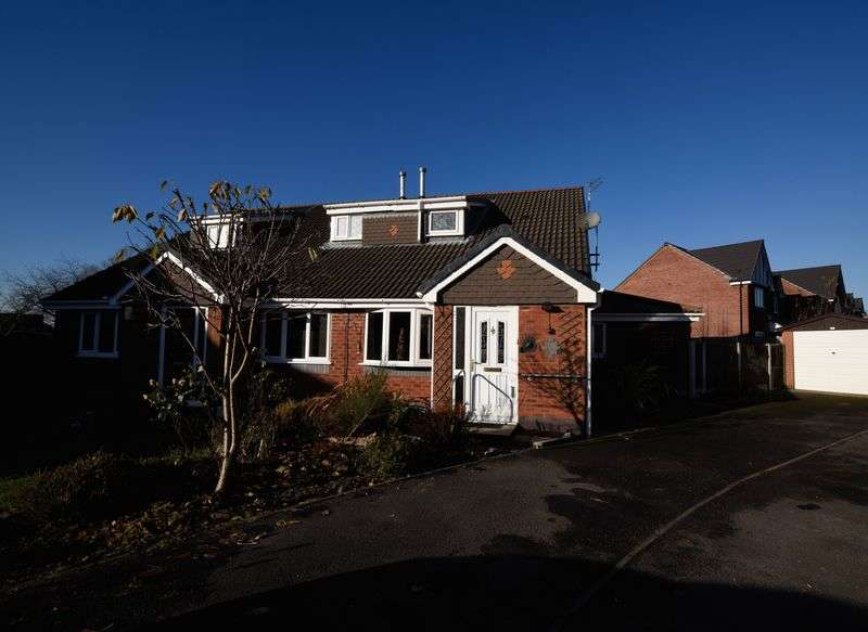 2 Bedrooms Semi Detached House for sale in Middlewood Close, Eccleston