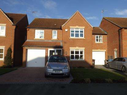 4 Bedrooms Detached House for sale in King Road, Warsop, Mansfield, Nottinghamshire