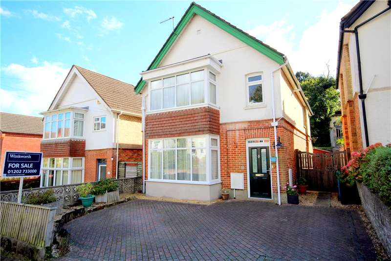 4 Bedrooms Detached House for sale in Vale Road, Lower Parkstone, Poole, Dorset, BH14