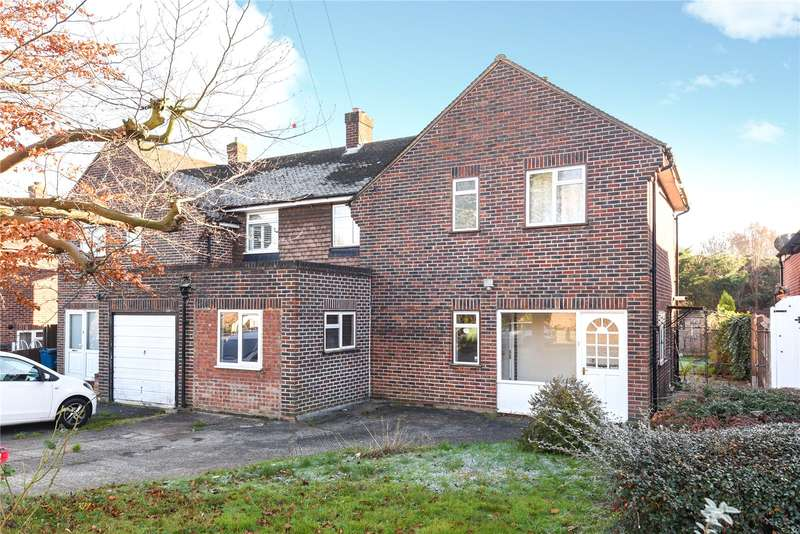 3 Bedrooms Semi Detached House for sale in Norman Crescent, Pinner, Middlesex, HA5
