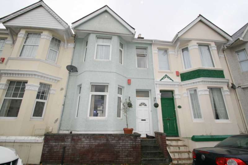 3 Bedrooms Terraced House for sale in Knighton Road, Plymouth