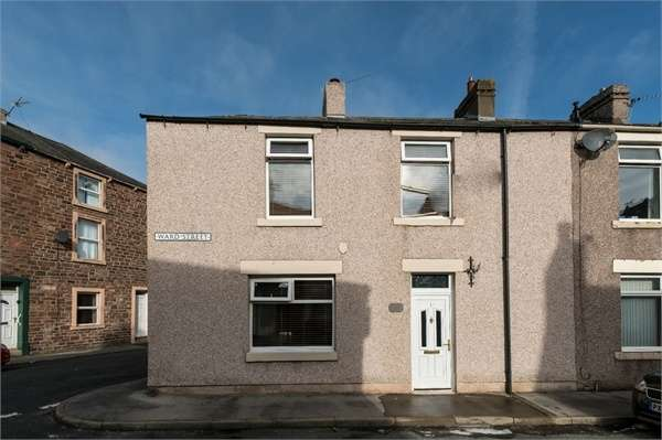 3 Bedrooms End Of Terrace House for sale in Ward Street, Maryport, Cumbria