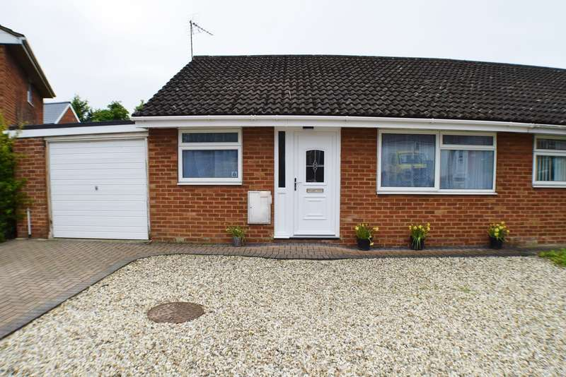 2 Bedrooms Semi Detached Bungalow for sale in Haig Close, Upper Stratton