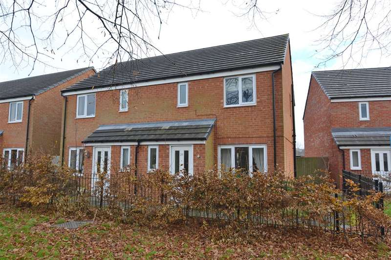 3 Bedrooms Semi Detached House for sale in Fieldhouse Way, Stafford