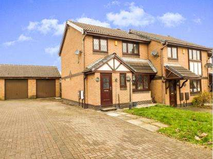 3 Bedrooms Semi Detached House for sale in Heys Court, Livesey, Blackburn, Lancashire