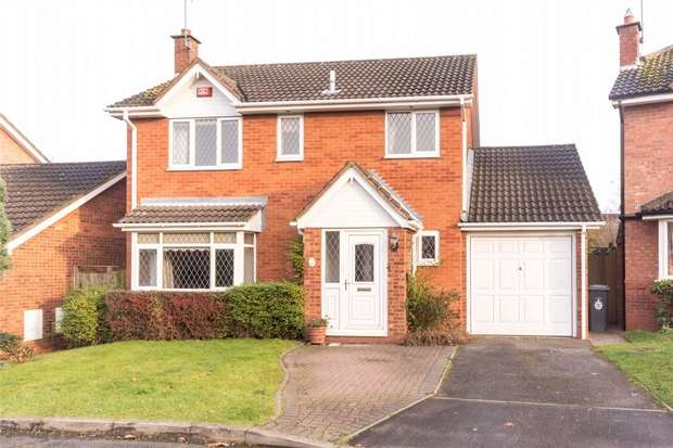 4 Bedrooms Detached House for sale in Carmichael Close, Lichfield, Staffordshire