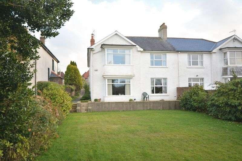 4 Bedrooms Semi Detached House for sale in Merthyr Mawr Road, Bridgend