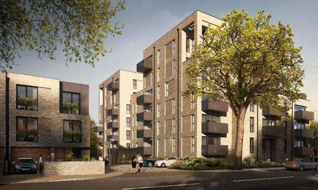 2 Bedrooms Flat for sale in Cambium, Victoria Drive, Southfields