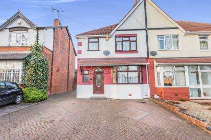 3 Bedrooms Semi Detached House for sale in Gibbins Road, Birmingham, West Midlands