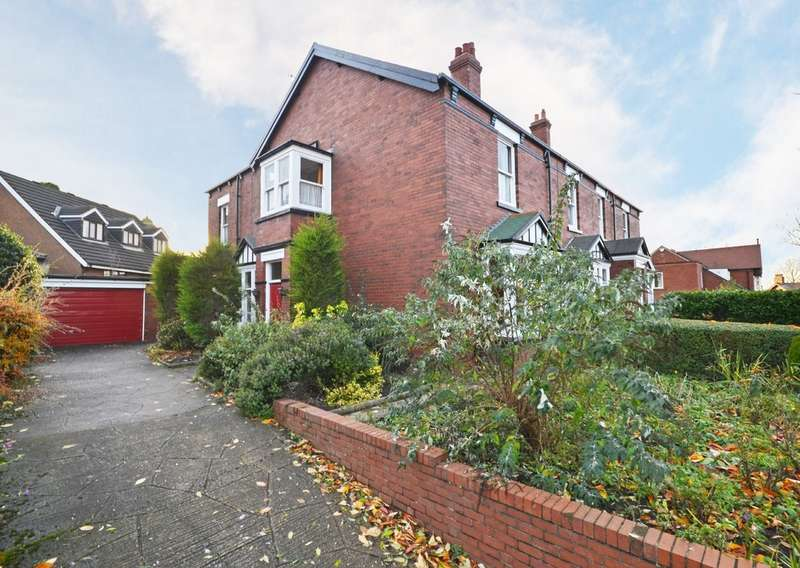 4 Bedrooms Semi Detached House for sale in Belgravia Road, St Johns, Wakefield
