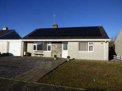 3 Bedrooms Bungalow for sale in Lon Ceredigion, Pwllheli, Gwynedd, LL53