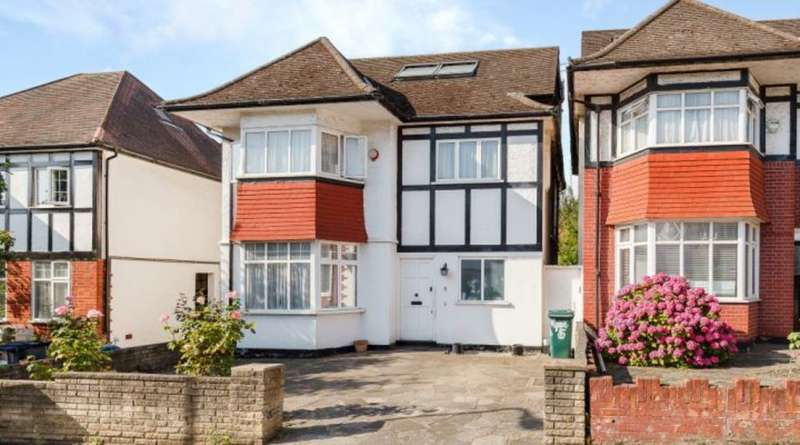 5 Bedrooms Detached House for sale in SHIREHALL GARDENS, HENDON, LONDON, NW4
