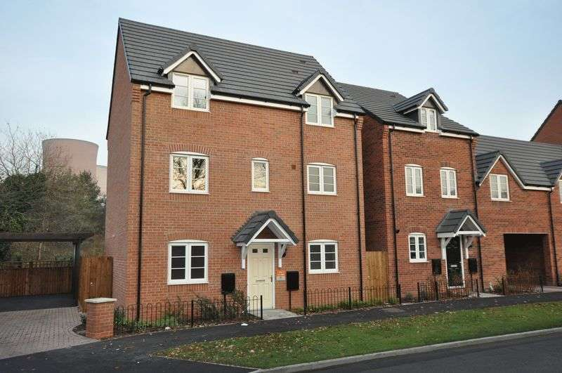 4 Bedrooms Detached House for sale in Woodbury Walk, Rugeley