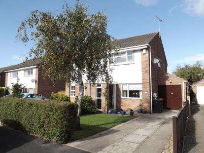 3 Bedrooms Semi Detached House for sale in Widdale Road, Knaresborough, North Yorkshire