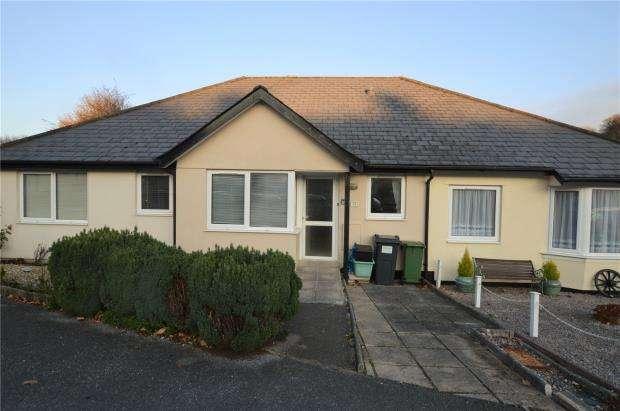 2 Bedrooms Terraced Bungalow for sale in Rangers Close, Buckfastleigh, Devon